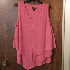 ALYX sleeveless layered blouse